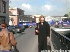 Doyenne mom fucked wits stranger