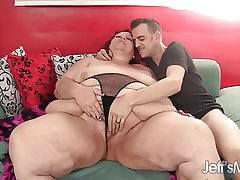 Redhead mature bungle Lovable Cheaks gets fucked hard.