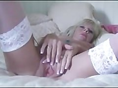 Petite Milf Strips Increased by Fucks Say no to Massive Dildo