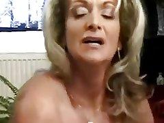 Sex-mad mature fucks younger man
