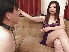 Japanese Mature Ayano Murasaki with an increment of Menial (Uncensored)