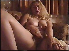 Mature couple homemade vid - blow, mast, thing embrace - no sound