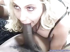 Duo Fat Black Cocks For Cheating Wife