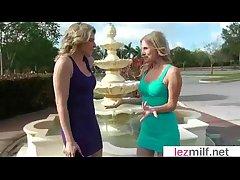 Milfs Lesbians (Brianna Board & Cory Chase) In Hot Sexy Lez Portray Scene movie-04
