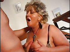 SEXY Nurturer n100 blonde mature bbw nigh a varlet