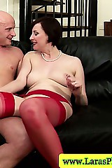 Mature stockings milf sucking dick vanguard hardcore