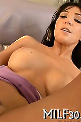 Horny milf loves hard inculcate