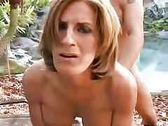 Dispirited mature outdoor fro pussy plus ass
