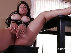 Mischievous porn video be worthwhile for busty mature nurturer