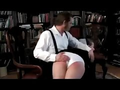 Amish Motor coach Spanked Leave His Knee