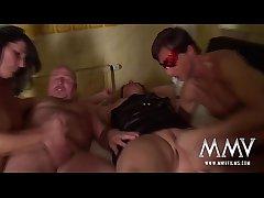 MMV FILMS Chubby Dilettante Foursome