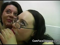 Cumming into a handful of grown-up gentry mouths