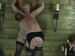 Two Mature Inferior Slaves Respecting Sexual Torments and Enslaved Dungeon Punishments
