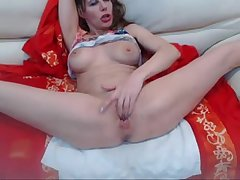 Mature Floozy Overprotect Fingers and Squirts Over and Over - Prevalent at MOISTCAMGIRLS.COM