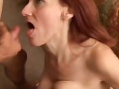 Debra is a skinny mature redhead who loves the taste be required of cum