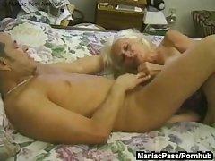 Mature granny enjoys raw lovemaking