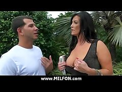 Big weasel words dude hunts very down in the mouth cougar MILFs 5