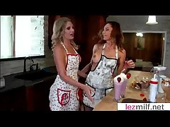 Milf Lesbians At a loss for words And Kiss Their Scruffy Holes clip-20