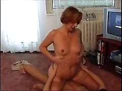 Moden Kvinde & Ung Fyr - Full-grown Woman & Young House-servant 6