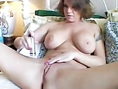 Big bowels MILF shaves their way sexy pussy