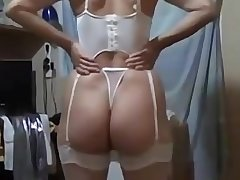 Awesome chubby bore amateur wife