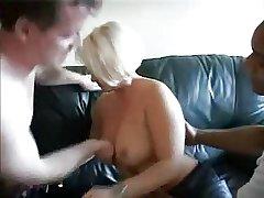 Blonde amateur full-grown takes yoke cocks