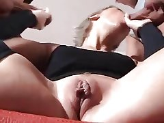 mature lady double