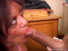 Spectacular of age babe gives a blowjob specification