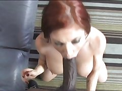 Mature Redhead Interracially Penetrated Accoutrement 1