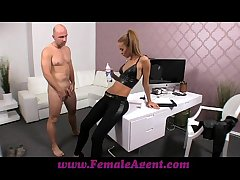 FemaleAgent Casting creampie for pleasantry spokesman