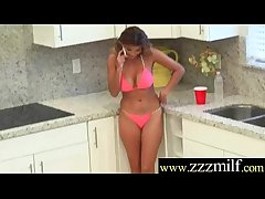 Gorgeous Milf Get Seduced With an increment of Banged Hard On Cam movie-27