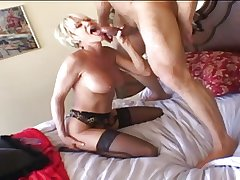 Paterfamilias - Mature Blond plays in good shape gets fucked