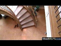 Slattern Mature Lady Drove On Cam Big Nefarious Cock video-12