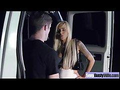 (nina elle) Big Melon Round Tits Join in matrimony In Hardcore Sex Scene video-24