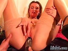 steffi degree her legs