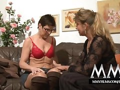 MMV Films Pierced mature fit together gets cock