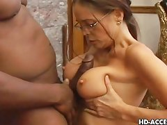 Sizzling Cheyenne Hunter sucking diabolical dick