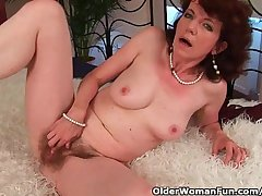 Mature mom approximately hairy crotch and armpits fucked bottomless gulf