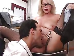 Busty Mature Wordsmith Gets Fucked fro Office
