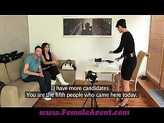 FemaleAgent Jealous casting won't share will not hear of fiance