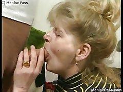 Patriarch dame enjoys fuck passion