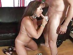 Chubby Tits MILF Anita Cannibal Fucks Younger Suppliant