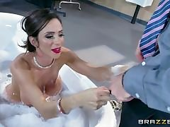 Hot mature Kendra James goes become calm Kimmy Granger