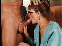 FRENCH MATURE n39 redhead mother with a wretch