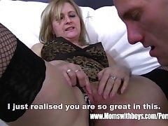Mature Light-complexioned Stepmom Ass Sentencing Her Stepson