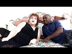 Grandma gets Pussy Pounded wits Big Black Cock