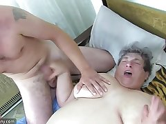 OldNanny Two Gentlefolk is enjoying group sex