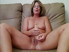 Milf together with Granny Masturbation