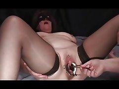 pierced pussy urethral bit