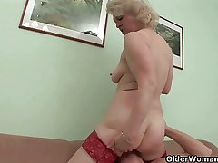 Mom needs a hard fuck with an increment of a cumshot